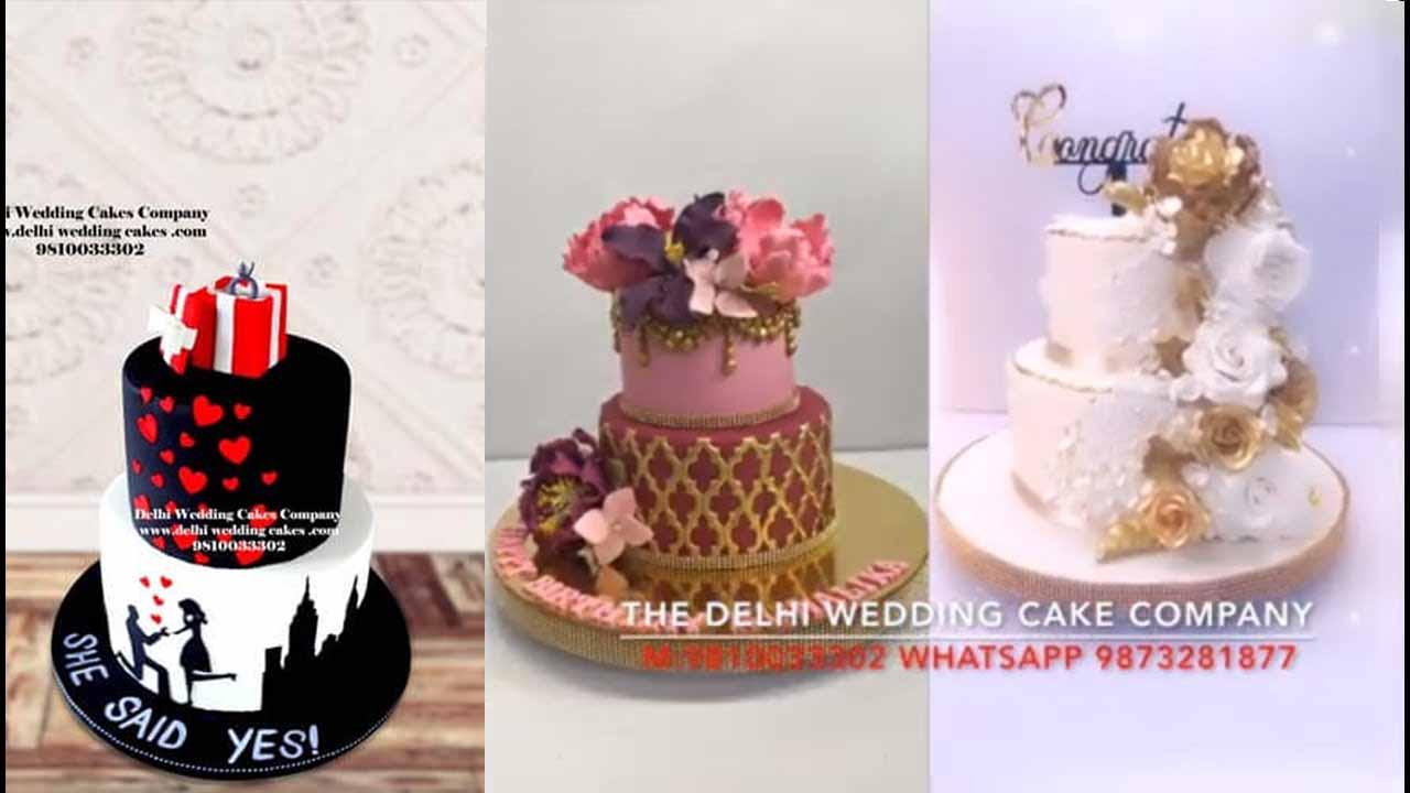Send 2 Tier Cakes in Delhi NCR Online   Delhi Wedding Cake Company